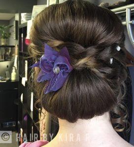 Wedding services formal hair